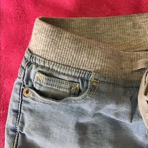 Justice Bottoms - Justice denim shorts with elastic waistband